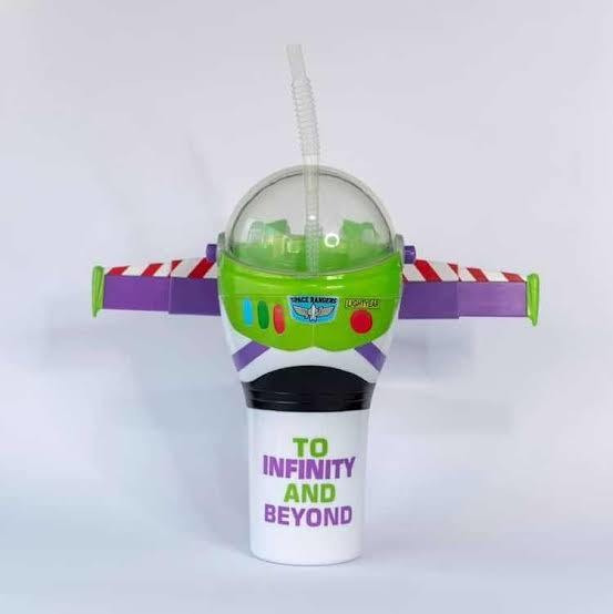 Vaso Coleccionable Buzz Lightyear Toy Story Cinemex