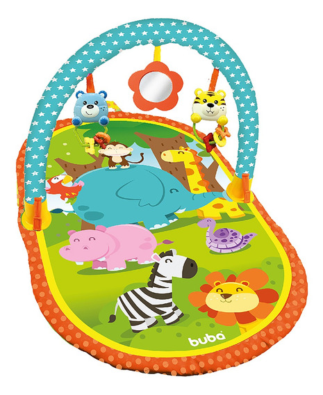 Tapete De Atividade Para Bebe Buba Infantil Interativo