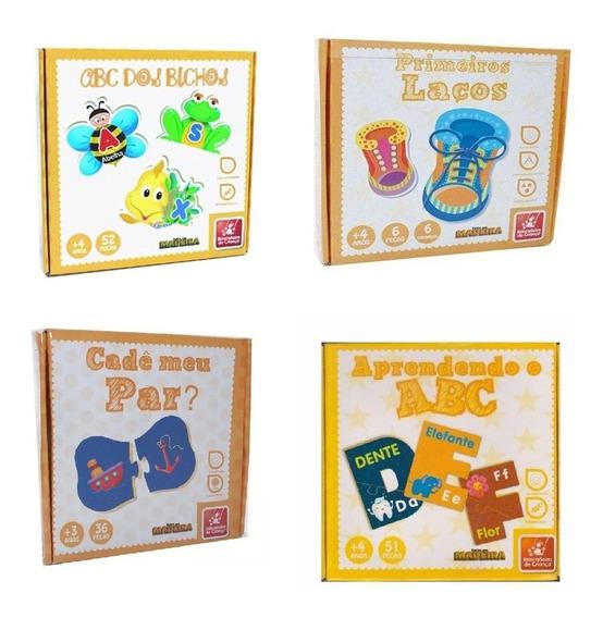 4 Jogos Educativo Alfabetização Brincadeira De Criança