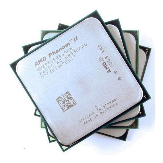 Processador Amd Phenom Ii X4 965 Black Edition, 3.4ghz Am3