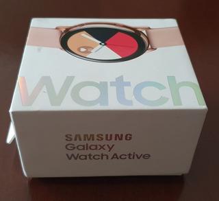 Smartwatch Samsung Galaxy Active Sm-r500 Rose/gold