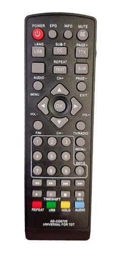 Control Remoto Tdt Universal Garantizado