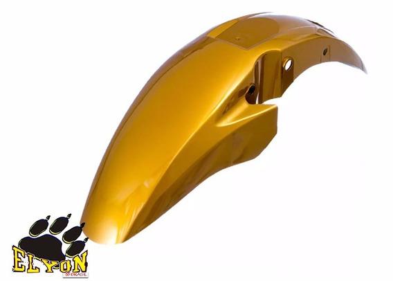 Paralama Dianteiro Titan 150 Ex 2011 Amarelo Perolizado