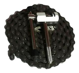 Extractor De Pernos De Cadena De Bicicleta + Cadena Gratis.