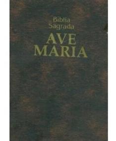 Bíblia Sagrada Ave Maria - Zíper - Edição De Bolso