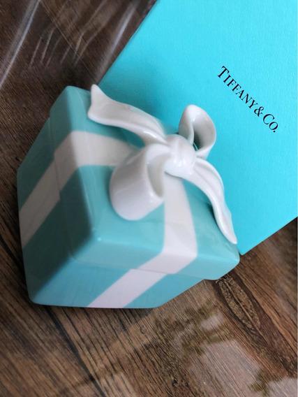 Blue Box Tiffany And Co Em Porcelana