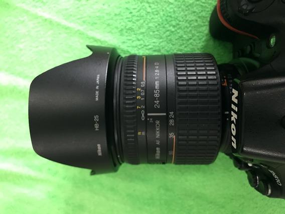 Lente Nikon Nikkor Af 24-85mm 2.8-4.0 Macro Tipo D