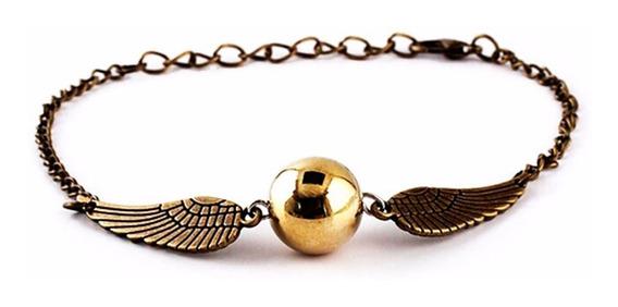 Pulseira Dourada Pomo De Ouro - Harry Potter