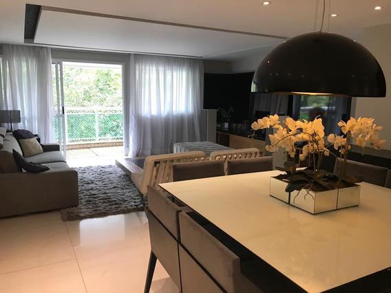 Apartamento 129m2, 3 Quartos E Salão No Melhor Lugar De Jpa.