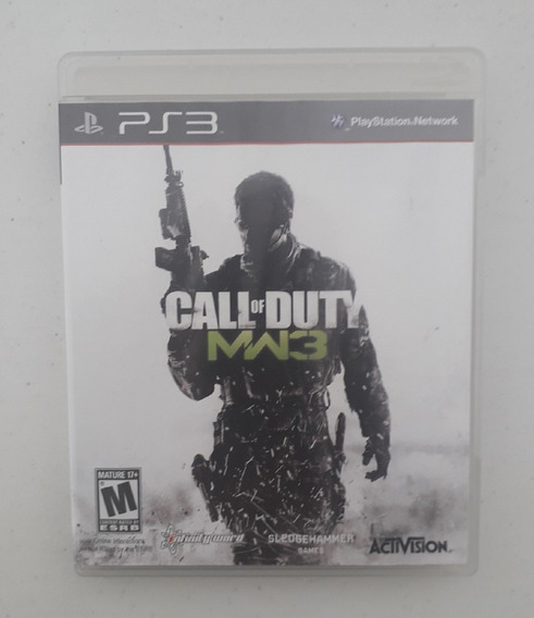 Jogo Call Of Duty Ps3 Mw3 - Modern Warfare 3 - Original Play