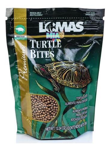 Imagen 1 de 6 de Alimento De Tortugas Y Reptiles En Bolitas Turtle Bites 350g