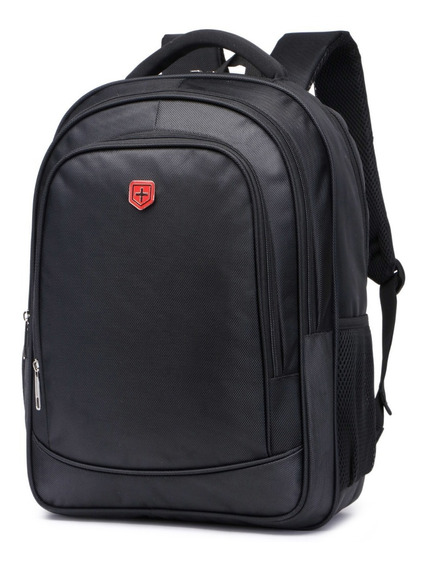 Mochila Para Laptop Notebook 15 Resistente Casual + Brinde
