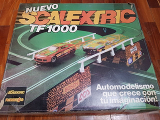 Pista Scalextric Tf 1000