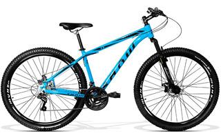 Bicicleta Show Rocker Aro 29 Freio A Disco 21v Shimano Azul