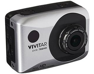 Vivitar Dvr786-sil Hd 1080p Impermeable Acción Cámara De Víd