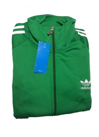 Camperas adidas Retro - Verde Con Blanco. Ver Mas Colores