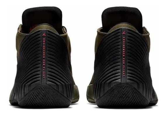 Tenis Nike Jordan Why Not Zero Verde #26 Al #30 Cm En Caja