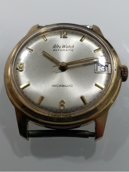Relógio Antigo Alto Watch Automatico