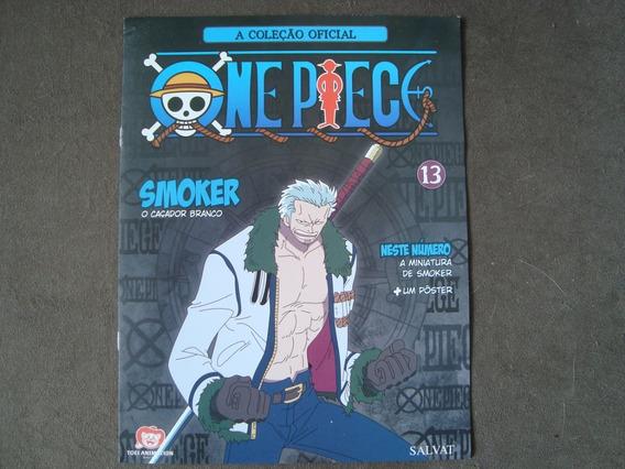 A Coleção Oficial- One Piece- Encarte 13- Smoker -com Poster