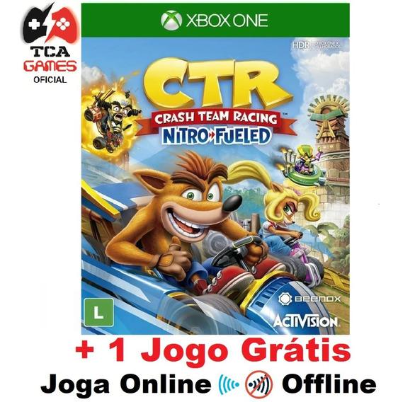 Crash Team Racing Nitro Fueled Xbox One Mídia Digital