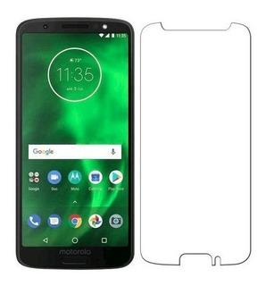 Kit 10 Películas Moto G6 Plus Vidro Temperado Cel. Motorola