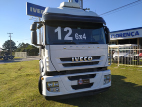 Iveco Stralis 460 6x4 2012 Único Dono - 2014