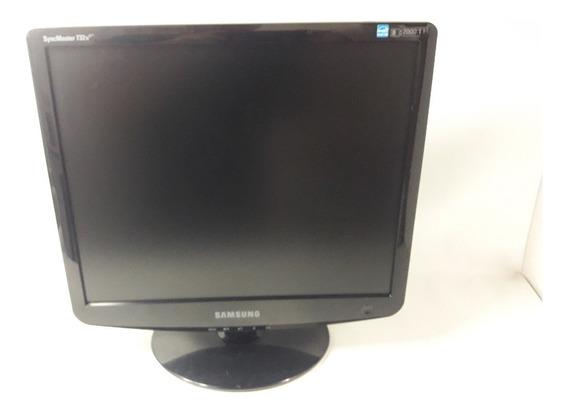 Monitor Samsung 732 Plus Preto Conexão Vga