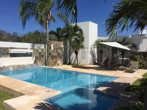 Se Renta Bonita Casa De 3 Rec En Arrecifes Playa Del Carmen P2248