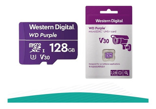 Memoria Micro Sd 128 Gb Western Digital Purple