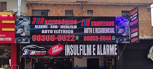 Imagem 1 de 1 de Insulfilm Alarme Bloqueador A Preço De Custo
