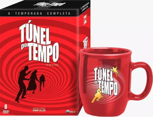 Imagem 1 de 1 de Túnel Do Tempo  Primeira Temporada  Vol. 1 E Vol. 2 + Caneca
