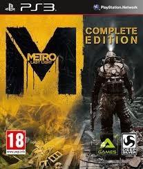 Metro Last Light Complete Edition Psn Ps3 Playstation 3