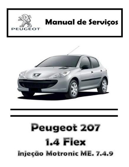 Manual De Serviços - Peugeot 207 1.4 Flex - Pdf