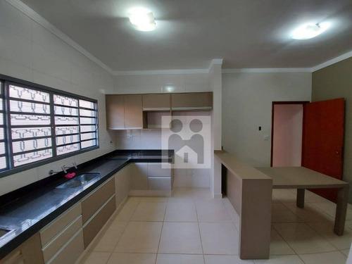 Imagem 1 de 14 de Casa Com 2 Dormitórios À Venda, 140 M² Por R$ 330.000,00 - Vila Monte Alegre - Ribeirão Preto/sp - Ca0733
