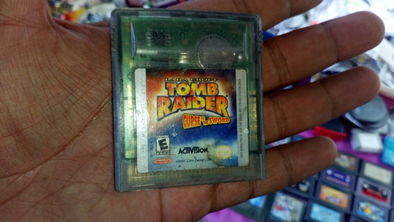 Gameboy Color Tomb Raider Curse Of The Sword