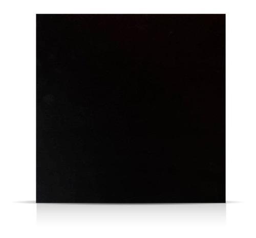 Cerámica Lourdes 35 X 35 Cm Negro Plus Ceramisur