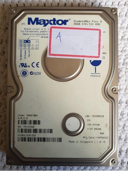 Hd Ide Maxtor Diamondmax Plus 9 80gb Ata / 133 6y080l00313-a