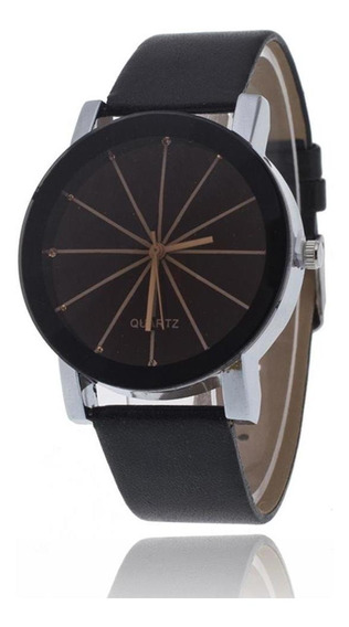 Moda Casal Relógio De Quartzo Pulseira De Couro Relógio De P