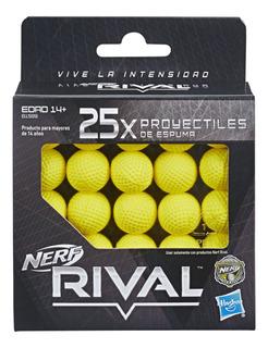Nerf Rival 25 Proyectiles De Espuma