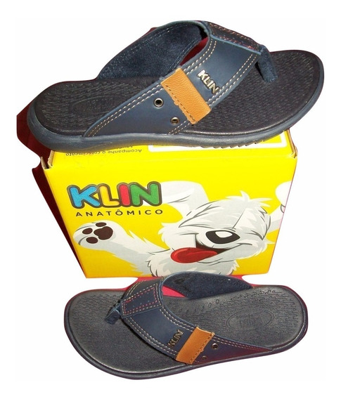 Chinelo Masculino Infantil Klin Original