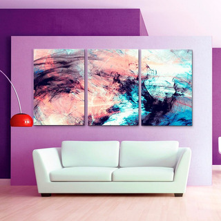 Cuadros Decorativos Jossdesign Colores Dil Set De 3pzs 40x60