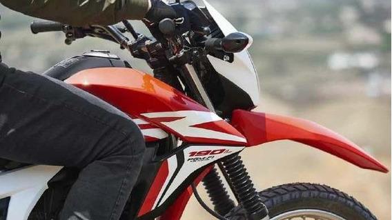 Honda Xr 190 Nuevo Modelo 0km Financia Ah12/18 Centro Motos.