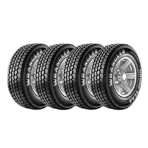 Kit 4 Goodyear Wrangler Armortrac 255/65 R17 110t Cuotas