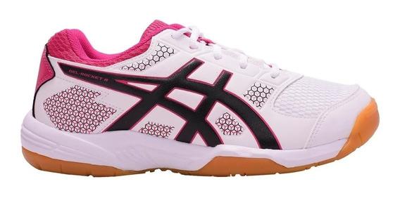 Zapatillas Mujer Asics Gel Rocket 8 Handball Volley Squash Indoor Hombre Envio Gratis Voley