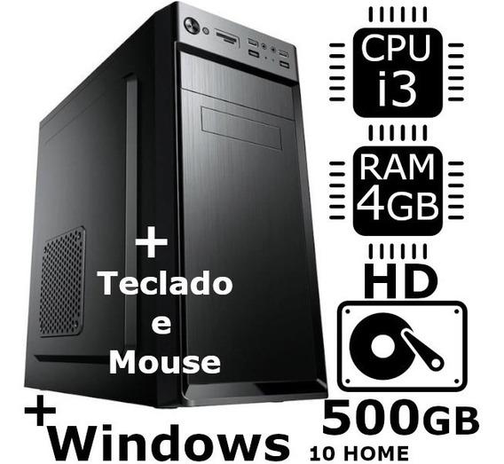 Desktop Brothers Intel® Core I5 4gb Windows 10 Monitor 15,4