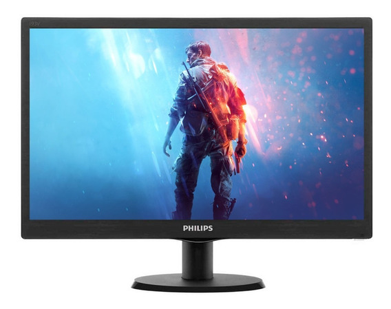 Monitor Philips 193v5lhsb2 Led 19 18.5 Hd 5ms 60hz Vga Hdmi