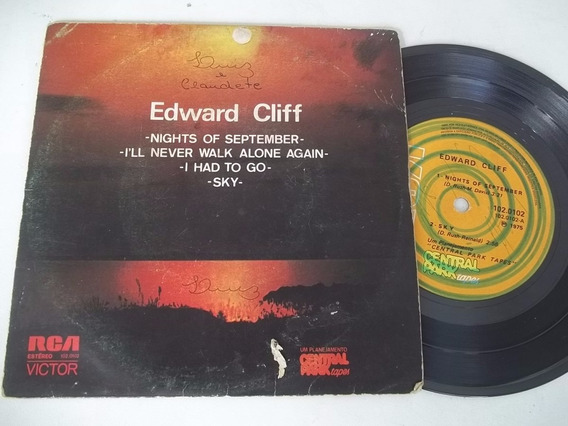 Vinil Compacto Ep - Edward Cliff - Nights Of September 1975