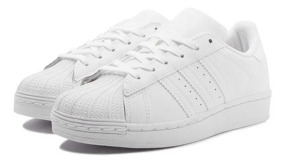Tênis adidas Superstar Branco White Em Oferta