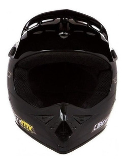 Capacete para moto cross Pro Tork Liberty MX Pro preto tamanho 58