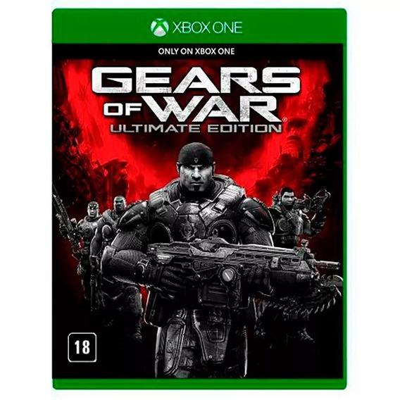 Gears Of War Ultimate Edition Xbox One Mídia Física Lacrado